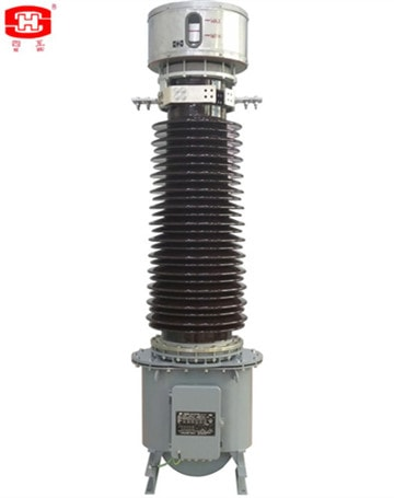 The display of the small electrical transformer